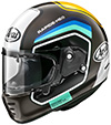 Arai Rapide-Neo Helmet Number Brown