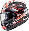 Arai RX-7X Helmet Ghost Red