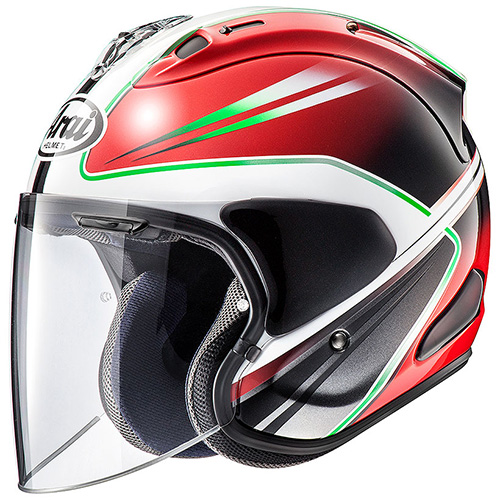 Arai VZ-Ram Helmet Wedge Red